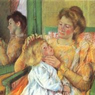 Cassatt_Mary_Mother_Combing_Child's_Hair_1879